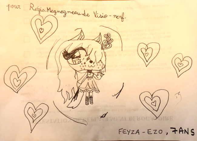 Superbe Dessin de Feyza Ezo (7 ans)